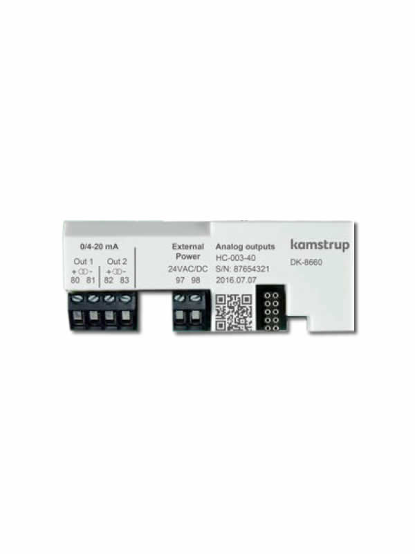 Analog output modul za MULTICAL 403