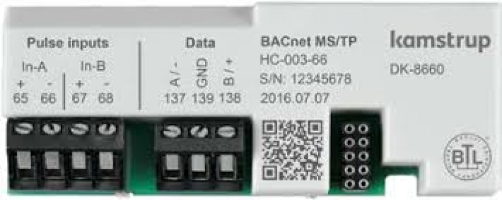 BACnet® MS/TP-modul za MULTICAL® 403 i 603